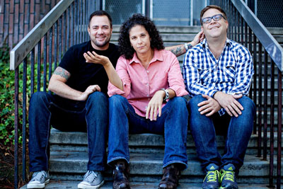 Ian Harvie, Dana Goldberg & Jason Dudey