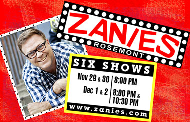 Jason Dudey at Zanies